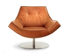 Design Leder Drehsessel Tommy M Marconi ✪ Premium Eleganz Clubsessel in Leder ✪ Handmade by TM Collection ✪ T. Egg Chair, Sofa Chair, Sectional Sofa, Lounge, Leather Craft, Designer, Design Inspiration, Bedroom, Furniture