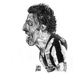 ale sketch #delpiero #juventus #legend
