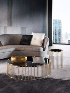 10 Modern Coffee Tables By Minotti | www.bocadolobo.com #coffeetable #centertable #livingroom #sittingroom #italianbrands #interiordesign #luxury #luxurybrands #famousbrands