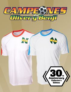 Camisetas Oliver y Benji