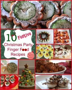 10 Festive Christmas Party Finger Food Recipes