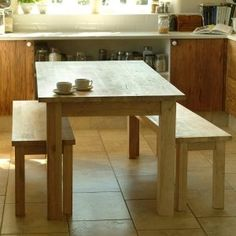Kitchen Table Bench Seat With Back | http://nilgostar.info | Pinterest