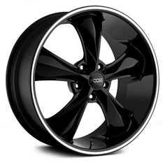 "First Choice.... 20"" rims FOOSE® - LEGEND Black with Machined Lip Stripe. 235/30/20"