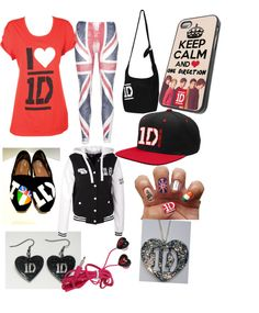 """""""Going Full-On One Direction"""" by liz-shim ❤ liked on Polyvore"""