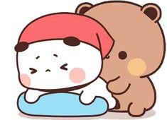 Cute Anime Cat, Cute Bunny Cartoon, Cute Kawaii Animals, Cute Cartoon Pictures, Cute Love Pictures, Cute Cat Gif, Cute Images, Cute Bear Drawings, Cute Little Drawings