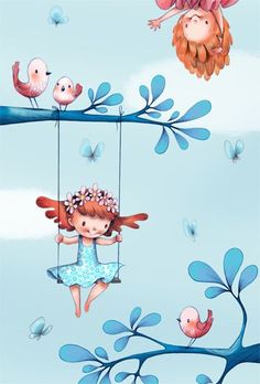 illustration #art #digital #illustrations #cute