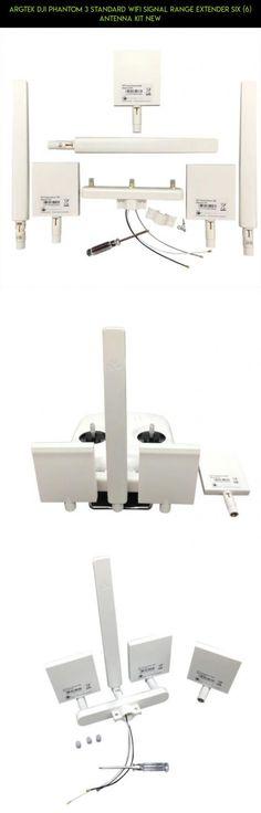 ARGtek DJI Phantom 3 Standard WiFi Signal Range Extender Six (6) Antenna Kit NEW #plans #dji #parts #racing #drone #phantom #tech #gadgets #fpv #standard #camera #kit #products #extender #technology #3 #shopping