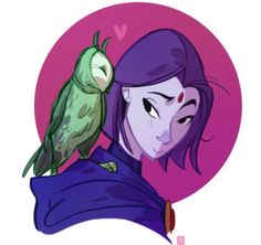 Raven and BB.