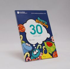30day Countdown to Birthday by ACreativeCountdown on Etsy, $7.95