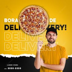 Pizza Promo, Pizza Delivery, Social Media Banner, Motion Design, Food Design, Aladdin, Banner Design, Flyers, Dallas