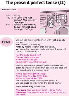 Grade 8 Grammar Lesson 5 The present perfect tense (II) (english grammar present perfect) English Grammar Tenses, Teaching English Grammar, English Verbs, English Sentences, Grammar Lessons, English Writing, English Vocabulary, Writing Lessons, Learning English