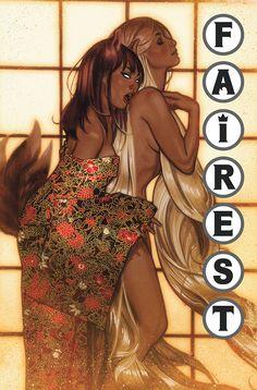 Adam Hughes - Rapunzel, Fairest #9