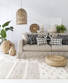 Tribal Luxe Interior  -  Josie and June Australian made cushions.  Photo and Styling by The Design Villa