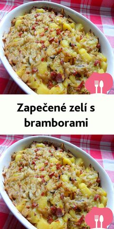 Zapecené zelí s bramborami Czech Recipes, Ethnic Recipes, Ham, Macaroni And Cheese, Food And Drink, Cooking, Recipies, Hessen, Mac And Cheese
