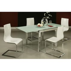 FREE SHIPPING! Shop Wayfair for Pastel Furniture Riviere Extendable Dining Table - Great Deals on all Furniture products with the best selection to choose from!