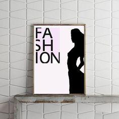 Fashion Print Fashion Illustration Fashion Wall by VividPictures