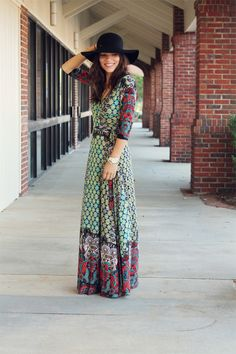 Bohemian Dress - GREAT BLOG WITH AMAZING STYLE In Honor of Design