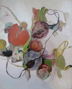 """""""La peinture est toujours posée couche par couche. C'est une chose fondamentale qui ne souffre pas d'exception pour les peintures, même si..."""