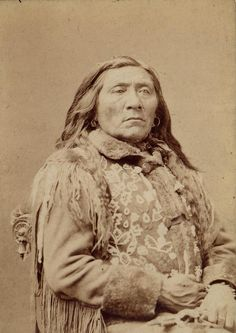 1888 Washington delegation - Two Belly, Chief of the River Crow