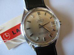 Vintage rare Lanco Swiss watch 443 21j NIB by VintageJewelries