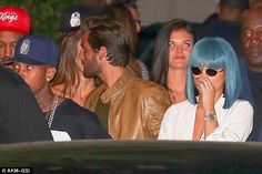 Friends again? It looks like there are no hard feelings between Kylie Jenner and Kourtney Kardashian's ex Scott Disick as the two were seen partying together at 1 OAK nightclub in Los Angeles on Friday night