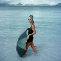 Fotos antiguas de Vogue en la playa