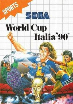 World Cup Italia 90 Game for the Sega Master System. Buy Now from Fully Retro! Sega Master System, 8 Bits, Sega Genesis, Box Art, Retro, World Cup, Videogames, Soccer, Abs
