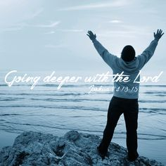 Going Deeper with the Lord ~ Joshua 24:13-15 Listen to Kris Burke's sermon to gain a deeper understanding of salvation. United Faith Church Barnegat, New Jersey