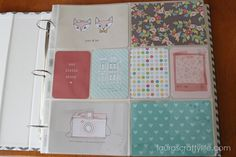 Dear Lizzy 5th and Frolic kit   Project Life   Laura's Crafty Life