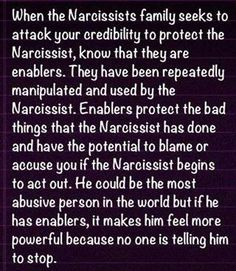 Narcs families & 'friends'.  My hubby sent me this to show me just how bad these people are. It is beyond True, sadly.