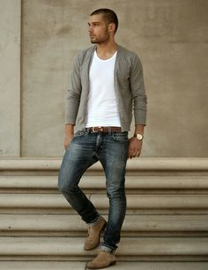 http://chicerman.com  cafoecumae49:  To find more fun picture  #streetstyleformen