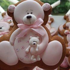 Decorated Bear Sugar Cookies
