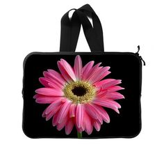 599ee53d67 Colorful Pink Gerbera Daisy Flower Petal Bouquet Nature Plant Art Deco  Laptop Sleeve Laptop Bag 14