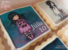 8th Birthday, Birthday Cakes, Birthday Parties, Galletas Cookies, Sarah Kay, Sugar Art, Gum Paste, Food Art, Lunch Box