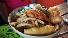 Fish and chips from Monkeypod Kitchen by Merriman @monkeypodkitchen - #imenehunes #food #delicious #yummy #yum #tempting #fishandchips #fish #chips #fries #monkeypod #monkeypodkitchen #monkeypodkitchenbymerriman #merriman #hawaiirestaurants #visithawaii #visitmonkeypodkitchen