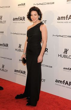 Lynn Collins attends the amfAR New York Gala To Kick Off Fall 2012 Fashion Week at Cipriani Wall Street on February 8, 2012 in New York City.