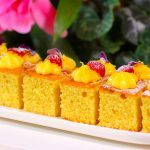 Visit the post for more. Italian Breakfast, Breakfast Cake, Oranges And Lemons, Baking Tins, Orange Zest, Vanilla Essence, Lemon Curd, Large Bowl, Berries