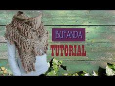 COMO HACER BUFANDA INFINITA SUPER FACIL | GANCHILLO NIVEL PRINCIPIANTES - YouTube