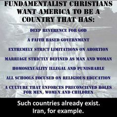 Religion in Politics in America?