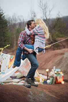 bohemian badlands engagement