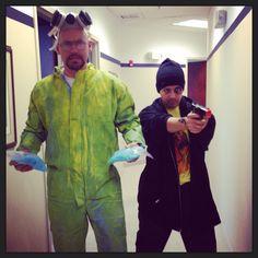 Jesse Pinkman & Walter White from Breaking Bad