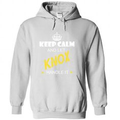 Keep Calm And Let KNOX Handle It - #shirt pattern #grey sweatshirt. WANT IT => https://www.sunfrog.com/Names/Keep-Calm-And-Let-KNOX-Handle-It-nwsgsheicr-White-33921300-Hoodie.html?68278