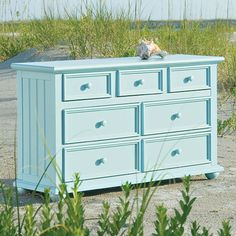 Myhaven Double Dresser : Myhaven at PoshTots. I like this color paired with navy