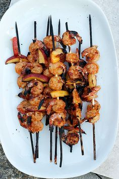 Sweet and Spicy Grilled Shrimp and Peaches are a mouthwatering addition to your…