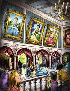 Fairy Tale Hall - disney-princess Photo