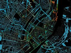'Urban heat islands' The Copenhagen Wheel: Data Viz Journal II