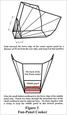 How to make a cardboard solar cooker, cheap.