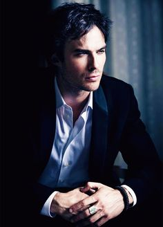 """Ian Somerhalder: the bad boy of the Salvatore brothers from the """"vampire diaries"""" being with him would be quite an intense and passionate adventure"""