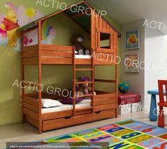 Łóżko piętrowe FREEDOM M2R 1D Świetne Łóżka Domki!