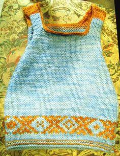 Baby dress knitting Tutorial